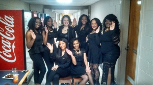 Miss Black and Gold Girls